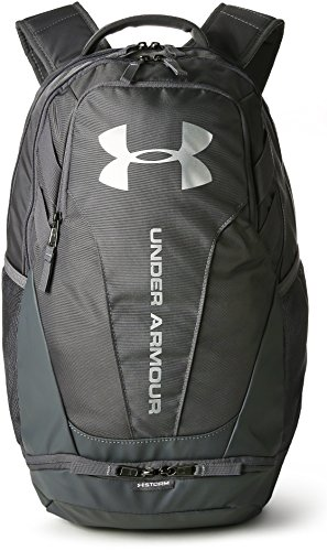 Under Armour UA Hustle 3.0, Mochila Unisex Adulto, Gris (040), 34.5 x 23.6 x 48 cm