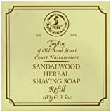 Taylor of Old Bond Street 100g Sandalwood Herbal Shaving Soap Refill