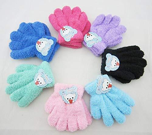 ChildGlove 2018 Winter Kinderhandschuhe, Kinderhandschuhe, Kinderhandschuhe, Kinder Performance Dance Handschuhe, Mädchen zufällig, eine Größe