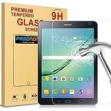 Pasonomi® [Anti-Rasguño] [Shatterproof] HD Vidrio Templado Protector de Pantalla para Samsung Galaxy Tab S2 8.0(SM-T710 /SM-T715) (Samsung Galaxy Tab S2 8.0)