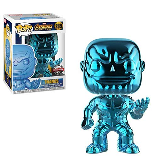Marvel Funko Pop Avengers Infinity War - Thanos (Chrome - Blue)