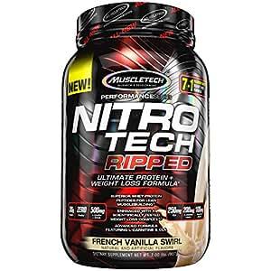 Muscltech Nitrotech Ripped - 1.8 kg (French Vanilla Swirl)