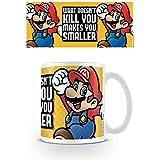 Pyramid International super Mario (Ti rende più piccolo) ufficiale inscatolato ceramica tazza da tè/caffè, carta, multicolore