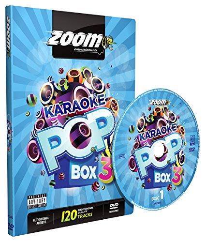 Zoom Karaoke Pop Box 3 Party Pack - 4 DVD Box Set - 120 Songs (Pack Song Karaoke)