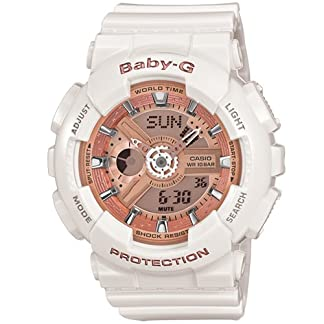 Casio Baby-G Analog-Digital White Dial Women's Watch – BA-110-7A1DR (BX016)