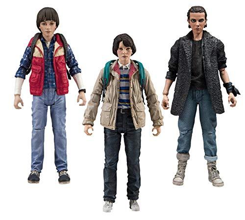 Close Up Set de 3 Figuras de Acción Stranger Things - Will, Mike & Eleven (0cm x 15cm)