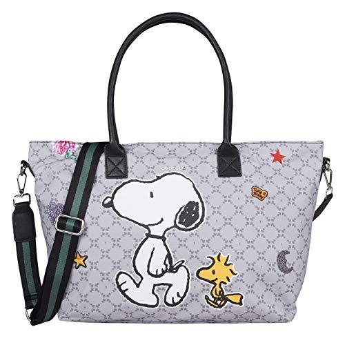Riemen Shopper Handtasche (CODELLO Canvas Bag,PEANUTS)