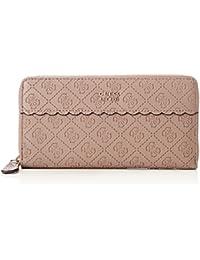 Guess Damen Slg Wallet Geldbörse, Grau (Taupe), 2x10x20 centimeters