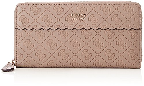 Guess Slg Wallet, Portefeuilles femme, Gris (Taupe), 2x10x20 cm (W x H L)