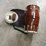 Sai Musical New Sheesham Professional Bolt Fitting Dholak.