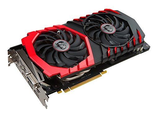MSI GeForce GTX 1060 Gaming X+ 6GB Nvidia GDDR5 1x HDMI - 2