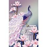 broadroot Magnolia Pfau 5D Diamant Gemälde Stickerei DIY Kreuzstich Home Decor