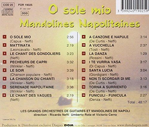 O Sole Mio-Neapolitanische Mandolinen
