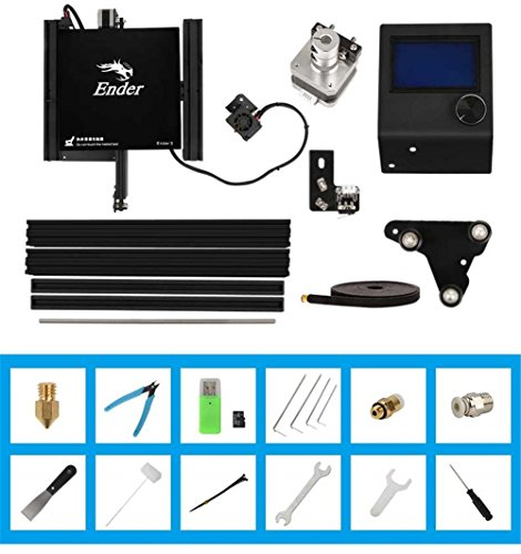 Comgrow Creality 3D Printer Ender-3X with Tempered Glass Plate 220 * 220 * 250 - 6
