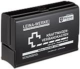 Leina-Werke 10052 Trousse de secours pour automobile Leina-Star II, noir/blanc