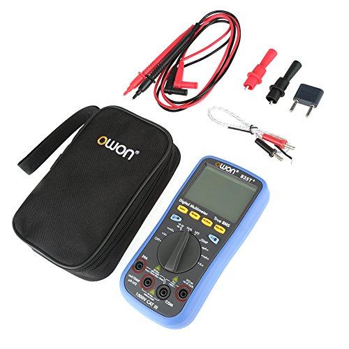 OWON B35T Multímetro Digital RMS verdadero de Rango Automático con Bluetooth Aplicación Gratuita Disponible para iOS y Android