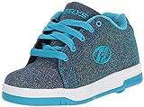Heelys Unisex-Kinder Fitnessschuhe, Mehrfarbig (Pewter/Blue 000), 33 EU