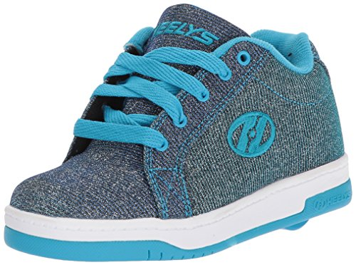 Heelys Split Disco Glitter Schuhe blau Mädchen Pewter - Blue, 35