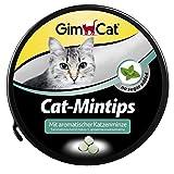 GimCat Cat-Mintips | Katzensnack mit aromatischer Katzenminze | ohne Zuckerzusatz | 1 Dose (1 x 200 g)