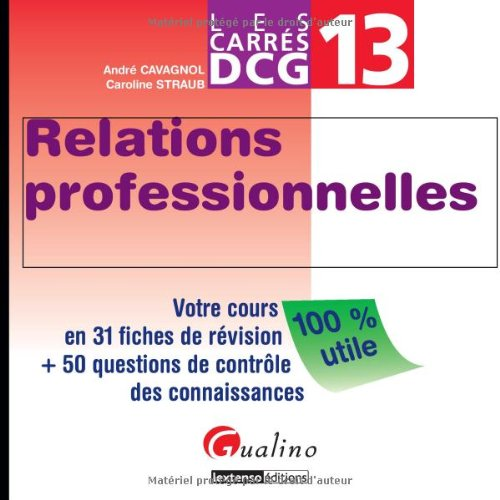 Relations professionnelles DCG 13