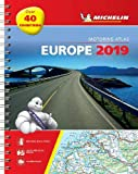 Europe 2019 - Tourist and Motoring Atlas (A4-Spirale) (Michelin Road Atlases)