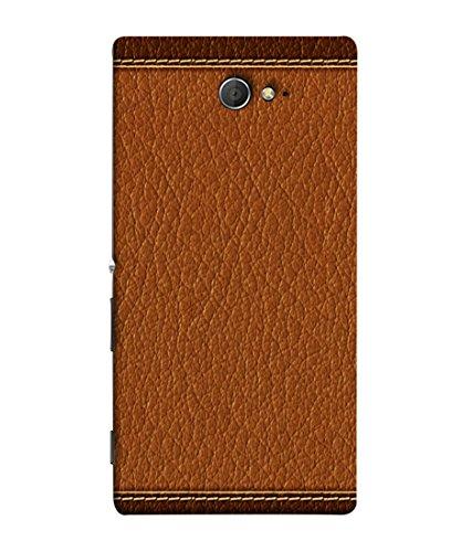 Fuson Designer Back Case Cover for Sony Xperia M2 Dual :: Sony Xperia M2 Dual D2302 (Fabric Designer Young Corporate Person Standard)