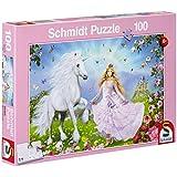 Schmidt - 55565 - Puzzle - La Princesse des Licornes