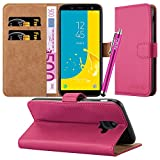 For Galaxy J6 Case - Wallet Book [Stand View] Card Case