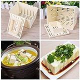 BIlinl DIY plástico Tofu Prensa Molde Hecho en casa cuajada de Soja Hacer Molde Herramienta de Cocina Comida China Herramienta de Cocina
