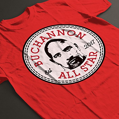 Dwayne Johnson Buchannon All Star Converse Logo Women's T-Shirt Red