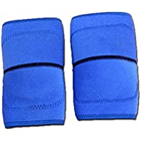 VORCOOL Protector de Rodillera para Niños Suave para Bailar Hacer Deportes Talla L (Azul)