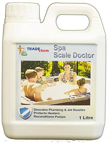 Maßstab Arzt–Whirlpool Maßstab Remover & Inhibitor Entkalker, Kalk prevention- Pflegt für Pumpen Düsen Heizung Spa