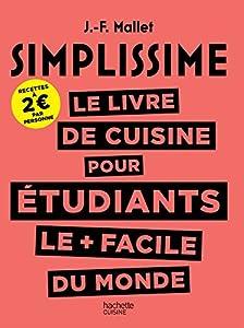 """Afficher """"Simplissime le livre de cuisine pour étudiants"""""""