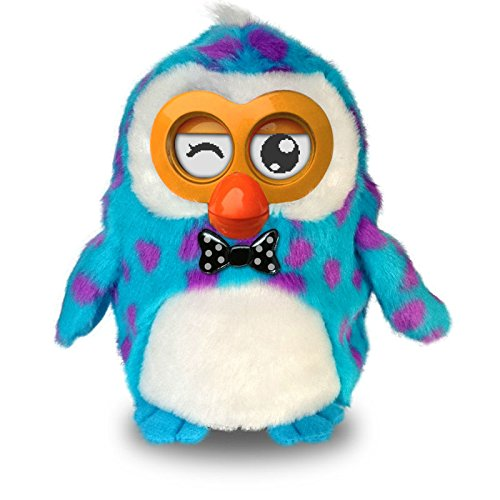 Hibou Owl Smart Intelligent Electronic Pet Niños Early Education juguete – Inter activo (Talk/Sing/Dance), pedagogía (Tell Story/Voice Repeat), App gratuita para Android/iOS dispositivos wifi Conexión A Tablet Smartphones