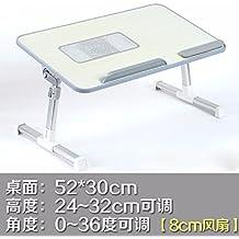 Cama con escritorio del ordenador portátil, mesa lazy, escritorio plegable y abatible, escritorio dormitorio college,4