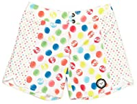 Roxy Beyond Dotted Girl's Boardshort Small White Dots 8 Years
