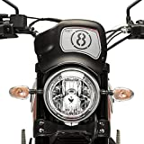 Windschild Puig Sport Ducati Scrambler Icon 15-17 schwarz matt