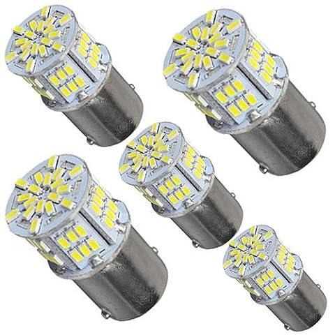 ZIMO® 5 x 650 Lumens 1156 1141 1003 3014 54 smd Ampoule Led Feux de Freinage Utilisation pour Les Taillights, Feux de Frein, Feux arrières
