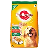 #7: Pedigree Adult Dog Food Vegetarian, 3 kg Pack