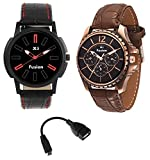 X5 Fusion Men's watch set of 2 RED 3 U A...