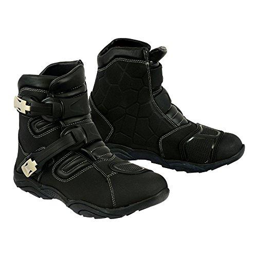 Stivali da moto, stivaletto corto da corsa, scarpe per escursioni fuori strada, impermeabili, corazzati, per uomini e ragazz