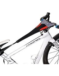Rockbros Vélo d'appartement de la sueur Net Cadre Guard Absorbe la transpiration Noir Rouge