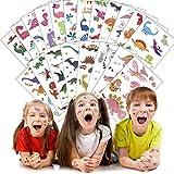 SWNKDG Dinosaurier Tattoos Set, Monster Temporäre Tattoos Aufkleber Sticker für Kinder Mädchen...