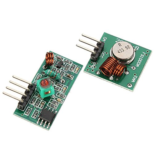 Skynet-RF Receptor y emisor módulo inalámbrico 433mhz 5V para Arduino/Raspberry