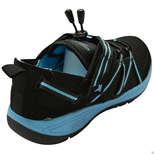 GOLA Donna Sport Palestra Active Velcro donna Mash Trainers Scarpe Numero UK 3-8 Nero Blu