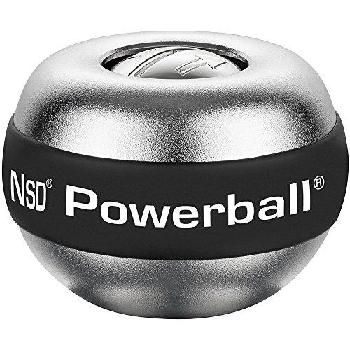 Kernpower Powerball® Der Große Titan, ca. Ø 8,2 cm, ca. 510 g, Aluminiumgehäuse Alu-silber