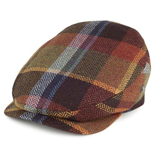 Gorra plana visera prolongada de lana inglesa City Sport - Multicolor -  LARGE a6ee66bb7c7