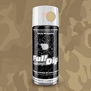 Full Dip Beige Camouflage Camouflage Vinyl Flüssig Auto