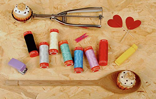 Aurifil 50wt Cotton Thread Collection 200m 7/Pkg-The Row by Row Experience Collection -