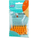 Tepe - Brossette interdentaire - Interdental Brush Soft Box with Hanger - 0,45 mm Orange Pack 8 -